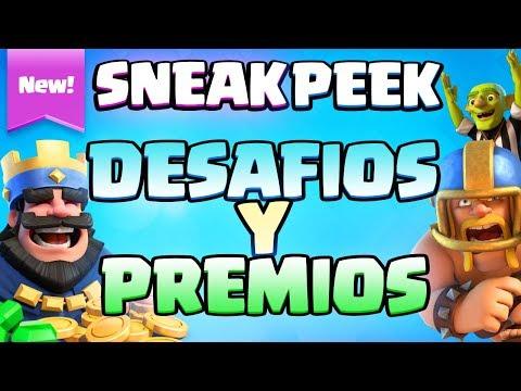 NUEVOS DESAFÍOS Y NUEVOS MODOS DE JUEGO: TouchDown y Espejo 2c2 | Sneak Peek | Clash Royale