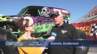 Monster Truck - Grave Digger and Monster Mutt driver interviews