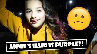 Annie s Hair Is Purple  WK 371.5 Bratayley