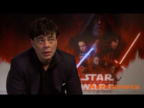 Benicio Del Toro stands up for his character in Star Wars: The Last Jedi