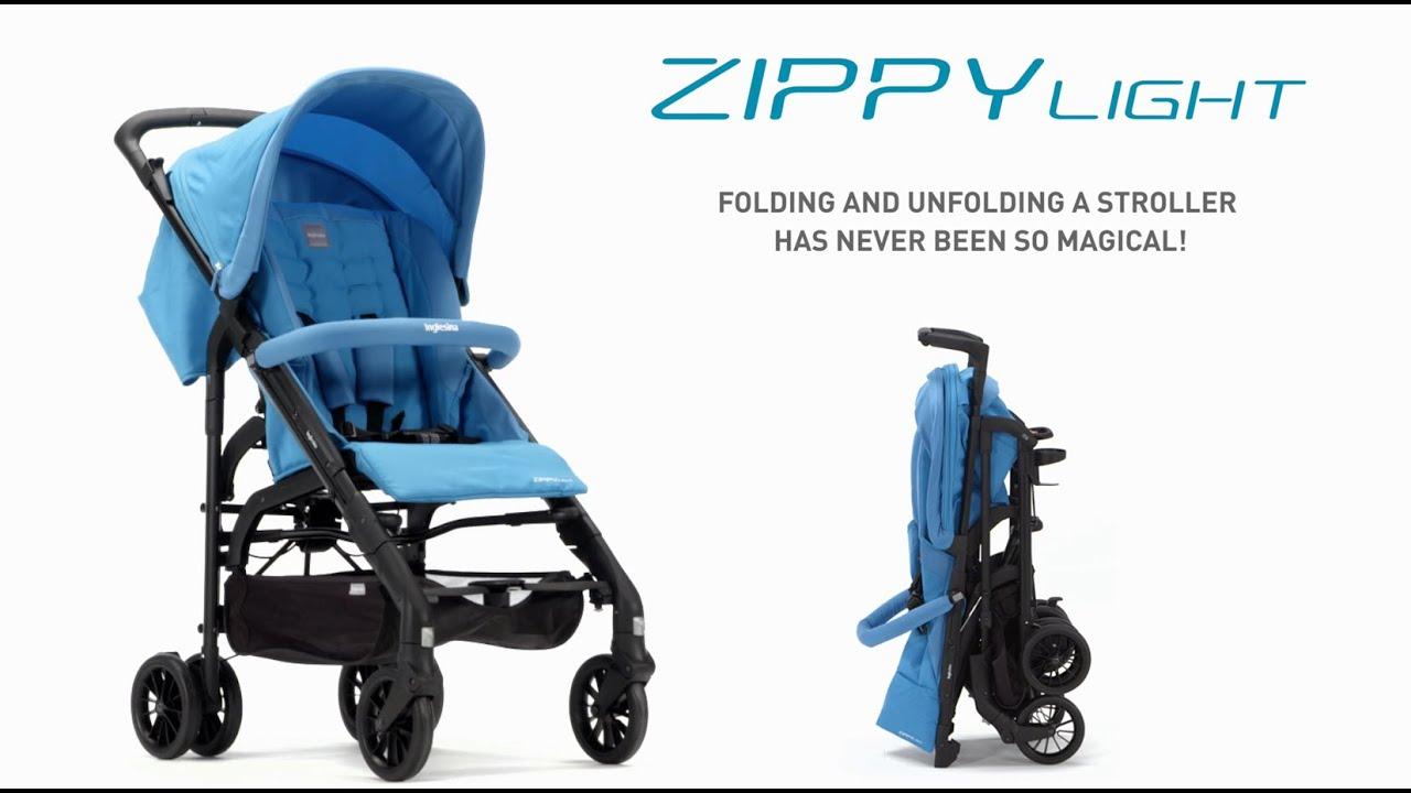 Stroller Zippy Light Inglesina - Demo - YouTube abc98e070e