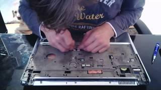 Čistenie chladenia Notebooku HP Pavilion DV7