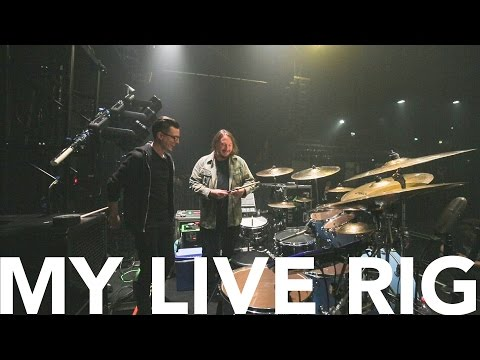 My Live Rig with Abe Cunningham 2017 (Deftones) (MMTV)