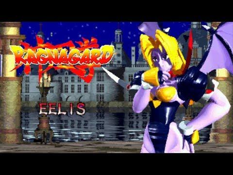 Ragnagard Eelis playthrough Neo-Geo CD 神凰拳 サキュバス イーリス