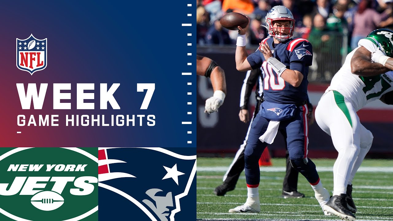 Jets vs Patriots Week 7 Highlights  NFL 2021