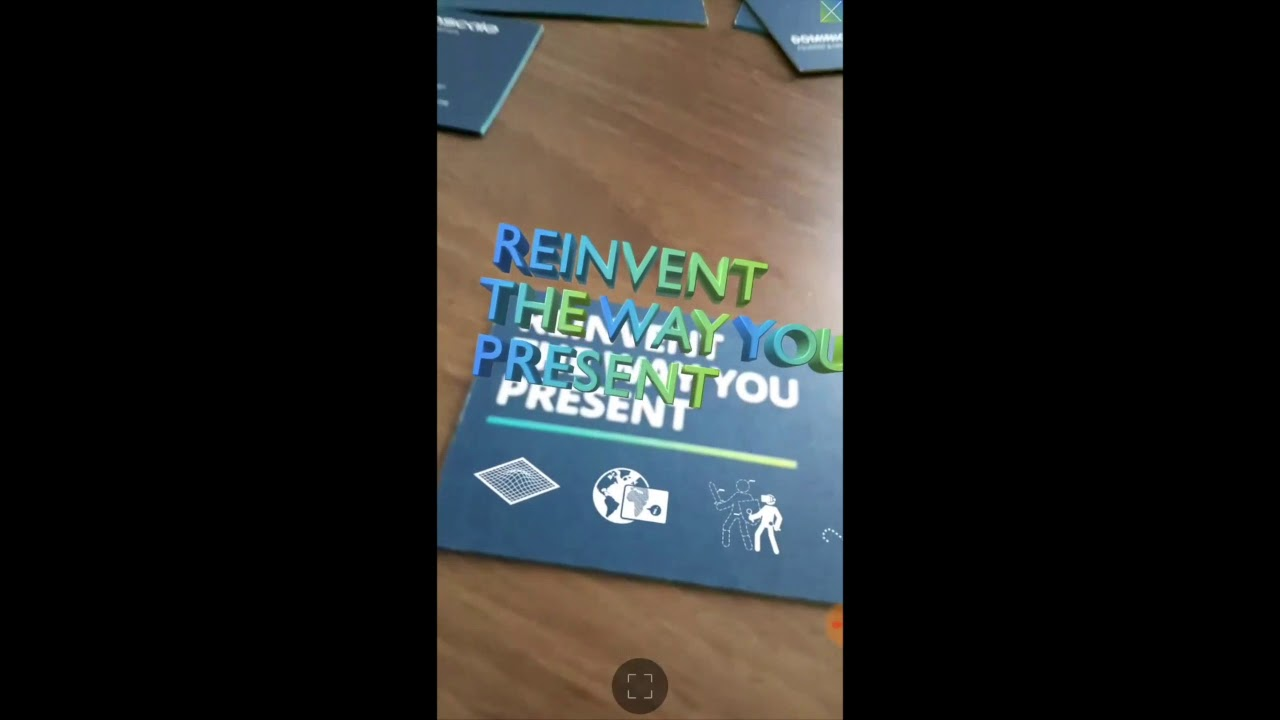Augmented reality business cards by inscale youtube augmented reality business cards by inscale reheart Choice Image