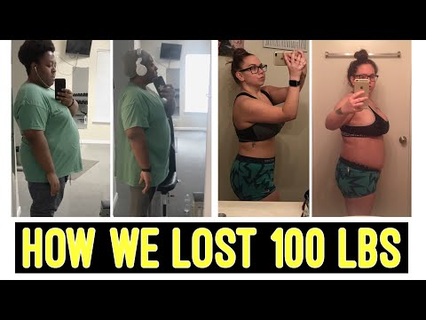How We Lost 100 lbs | Weight Loss Journey | Fitness Cardio and Weight Training