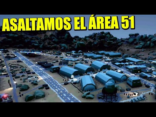 RAIDEAMOS EL ÁREA 51 - STORM AREA 51   Gameplay Español