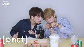 R💚JSMR | 바삭한 핫도그🌭 & 멜론빙수🍧 먹방 (+with 런쥔) | ASMR