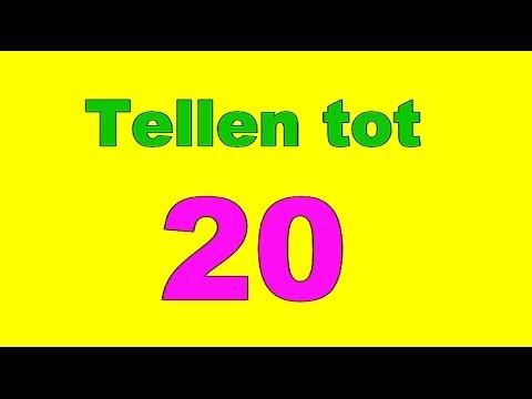 Super Tellen tot 20 twintig peuters kleuters cijfers leren - YouTube SX-99