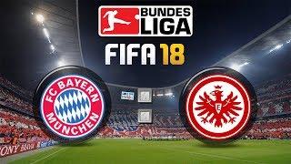 FIFA 18 Bundesliga FC Bayern München : Eintracht Frankfurt | Gameplay Deutsch Livestream