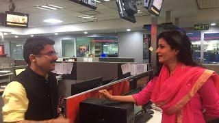 पद्मावती पर Anjana Om Kashyap Vs Rohit Sardana   LIVE   News Tak
