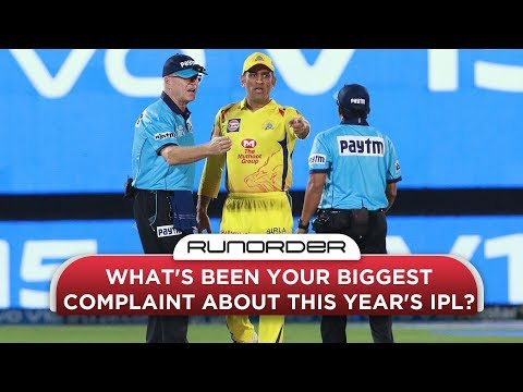 Runorder: The Biggest Complaint About The IPL This Year