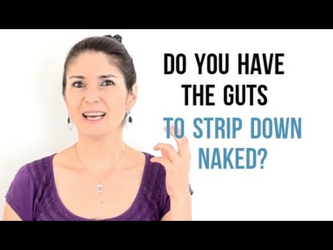 Freya's Singing Tips: Do you have the GUTS to strip down NAKED???
