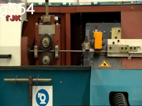 Оборудование для правки и нарезки арматурной стали.mp4