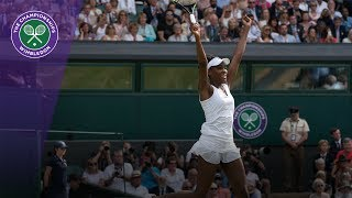 Venus Williams' nine Wimbledon semi-final wins
