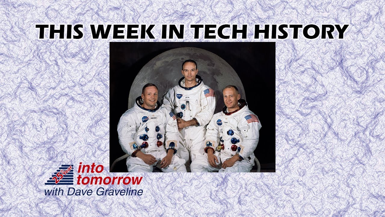 This Week in Tech History: America Heads to the Moon | Into Tomorrow