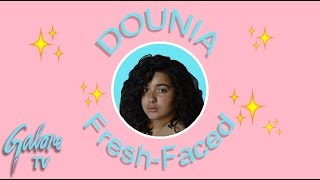 Dounia Debunks Going Without Makeup | Galore TV
