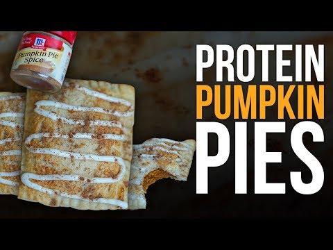 Protein Pumpkin Pies Under 160 Calories!
