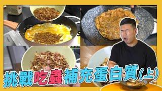 『昆蟲食譜』四道增肌減脂料理 Peeta最害怕的挑戰(上集)