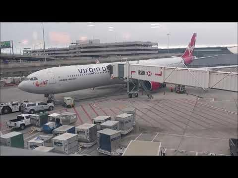 VIRGIN ATLANTIC VS26 JFK-LHR AIRBUS A340-600 ECONOMY CLASS TRIP REPORT