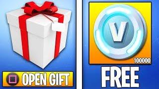 Gifting System Fortnite - Fortnite Gifting System: Gift Skins & VBucks! (Fortnite Gifting Feature)