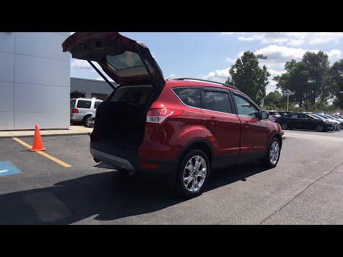 2016 Ford Escape Bourbonnais, Frankfort, Matteson, Manteno, Manhattan, IL 29320
