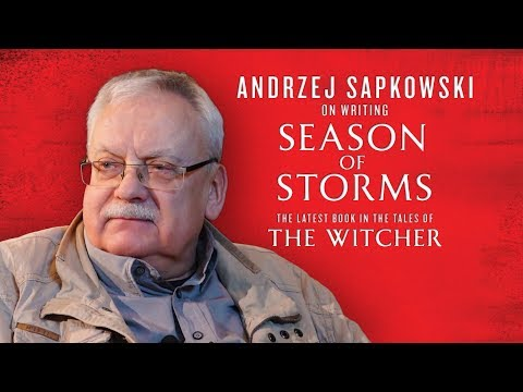 An interview with Andrzej Sapkowski about the Witcher and Season of Storms