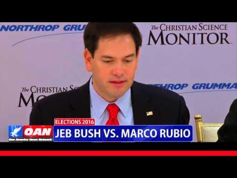 Jeb Bush Vs Marco Rubio