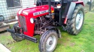 Traktor Tafe 42 DI Muhadin Sas in Ulcinj Tuning