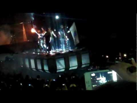 """""""Sonne"""" Rammstein live at the DCU Center Worcester, MA 2012"""