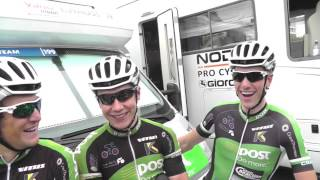 Gambar cover AN Post CRC Team guys at the start of stage 8 Your of Britain 2013