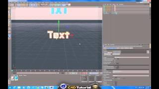Slow Motion Text Smash - CINEMA 4D - Tutorial