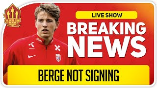 Sander Berge Transfer Today? Man Utd Transfer News
