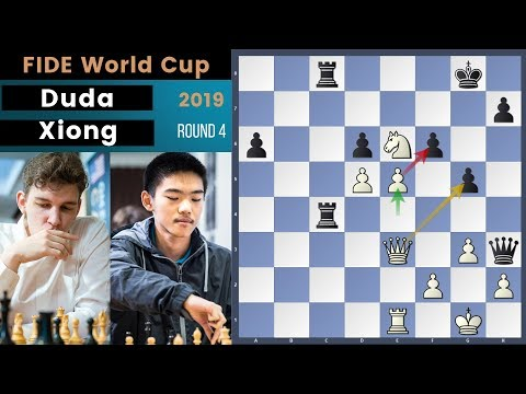 Young Blood! - Duda vs Xiong | Fide World Cup 2019