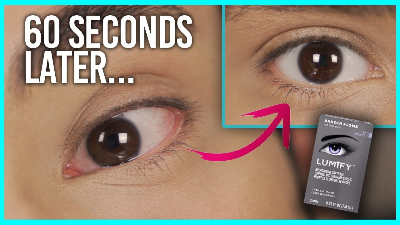 why does eye drops work