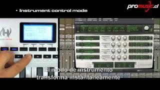 Controladores Midi Axiom PRO de M-Audio
