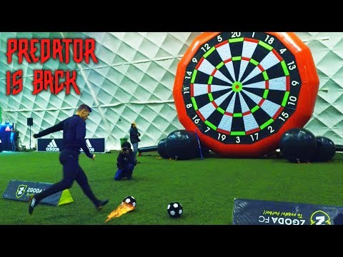 TESTUJEMY NOWE BUTY !   ft. Lachu, Lotar i Footroll   PREDATOR