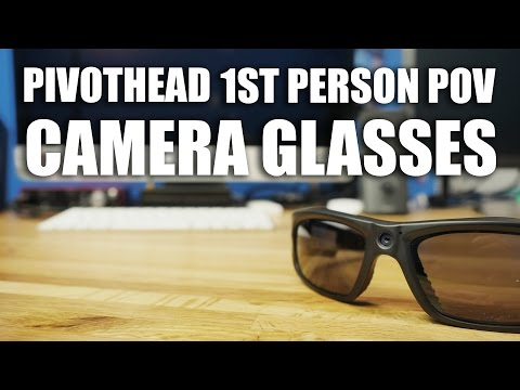 Pivothead First Person POV Camera Glasses Review and Giveaway With Dennis Roady