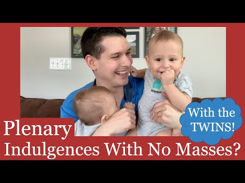 How to Gain a Plenary Indulgence With No Mass
