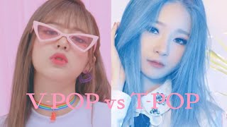 T-POP VS V-POP [GIRL GROUP EDITION]