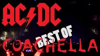 AC/DC - Best Of Coachella 10 & 17 04 2015 - Amateur Multicam Mix