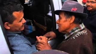 El norte de Huehuetenango recibe a Saul y Rogelio. Santa Eulalia, Huehuetenango