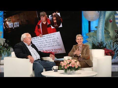 Ellen Meets Alabama Hero Dad Nathan Mathis