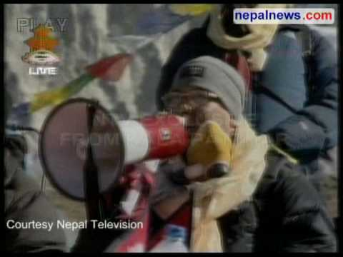 Nepal holding historic high-altitude Cabinet meeting in Everest