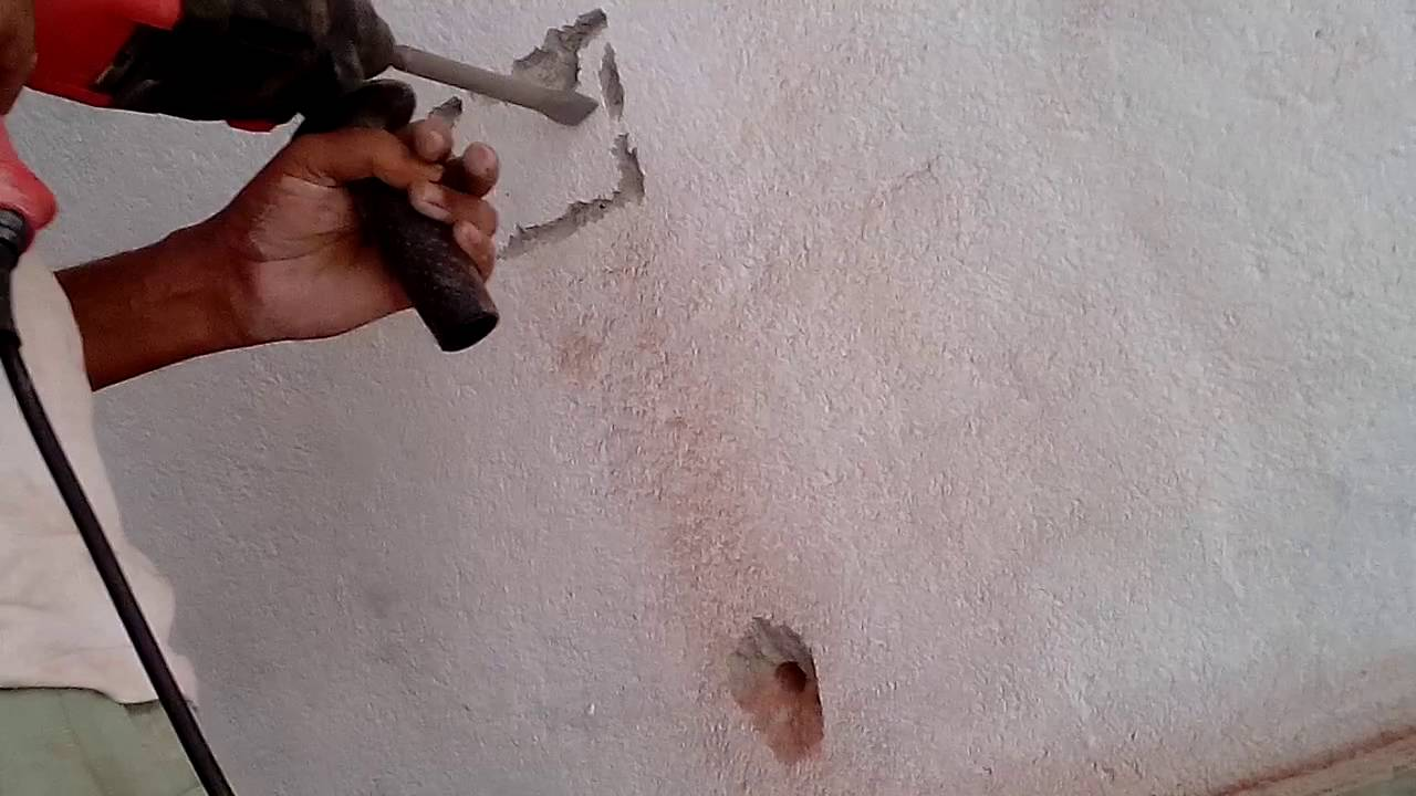 Bricks Walls Chase Cutting Machine Youtube