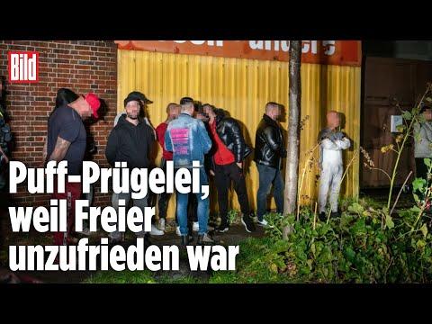 Hamburg: Streit in Bordell endete in einer Massenschlägerei