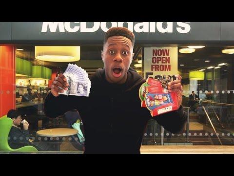 Winning At The Mcdonalds Monopoly Rare Mayfair Ticket Hunt