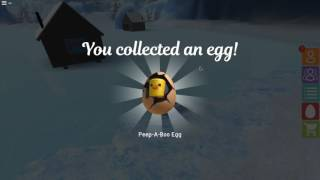 Peep-A-Boo egg locations Roblox EGG HUNT 2017