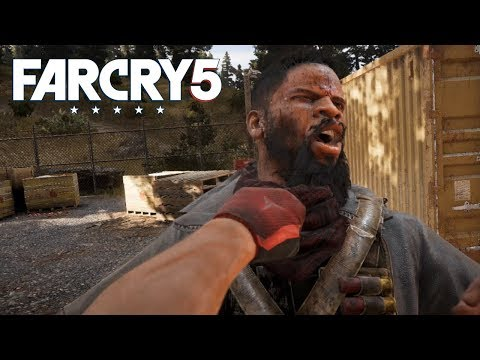 Far Cry 5 : Badass Hand to Hand Outpost Liberation - No Hud - Hardest Difficulty